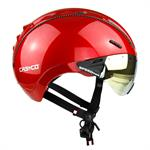 Casco Roadster Cykelhjelm Red Shiny Plus