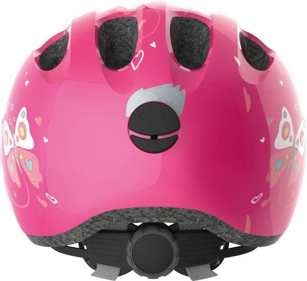 Abus Smiley 2.0 Pink Butterfly cykelhjelm
