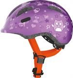 Abus Smiley 2.0 Purple Star cykelhjelm