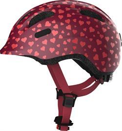 Abus Smiley 2.0 Cherry Heart   cykelhjelm