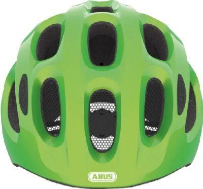 abus youn-i sparkling green cykelhjelm