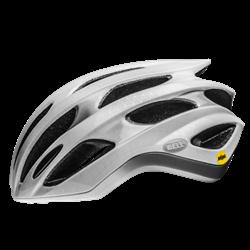 Bell Formula Matt Gloss White Silver Mips | cykelhjelm