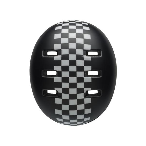 Bell Lil Ripper Baby Cykelhjelm Checkers Black White 45-52 cm
