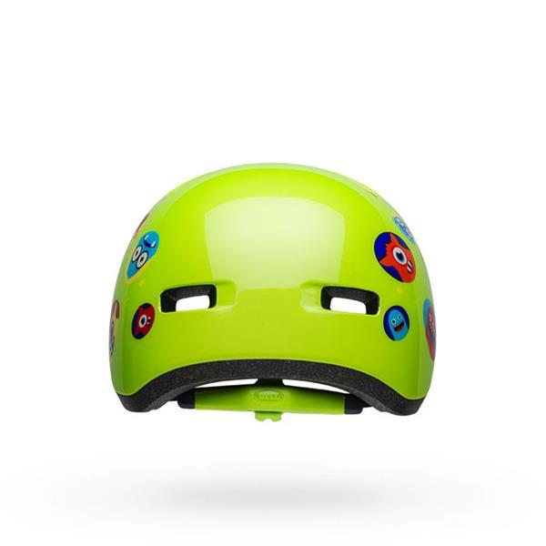 Bell Lil Ripper Child Cykelhjelm Monsters Gloss Green 48-55 cm