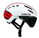 Casco Speed Airo White Visor Carbonic Grey Silver Flash
