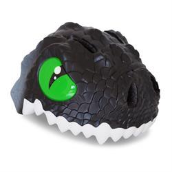 Crazy Safety Black Dragon med LED lys | cykelhjelm