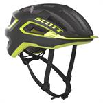 Scott Arx Plus Mips Cykelhjelm Dark Grey Radium Yellow