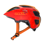 Scott Spunto Kid Red Orange med LED lys