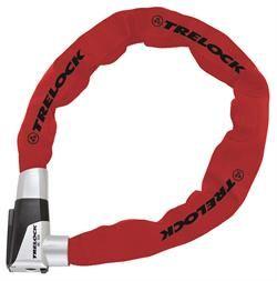 Trelock BC-515 85 cm/ 8 mm Rød Forsikringsgodkendt | cykellås